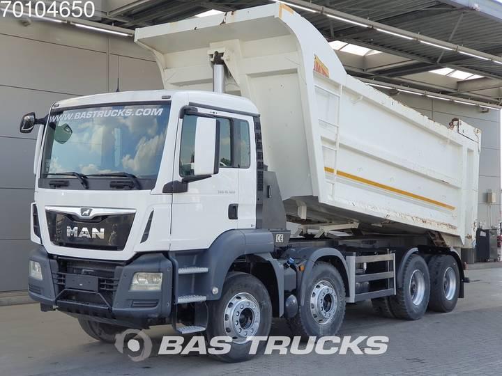TGS 41.420 M 8X4 Manual 27m3 Big-Axle Steelsuspension Euro 6 - 2017