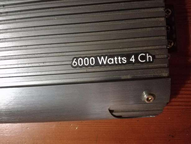 Powerbass 6000W AMP (4 channel) Kloof - image 4
