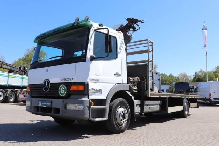 Mercedes-Benz Atego 1523 4x2 Stilladsbil M. Kran - 2004