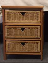 Drawer Units (6 units) - Pine & Wicker sold together or individually