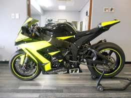2014 Kawasaki ZX10 with Full Road Kit for Sale