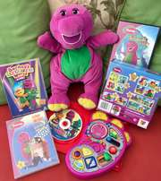 Barney Toy And DVD Hamper !