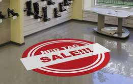 Floor Graphics at Great Prices Call For Quick Response