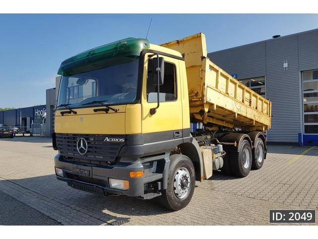 Mercedes-Benz Actros 2631 Day Cab, Euro 3, Full steel / Big ax - 2002