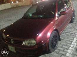 Reg golf 4 manual drive