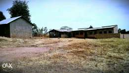 One & ahalf acre of Land with School Structures On sale