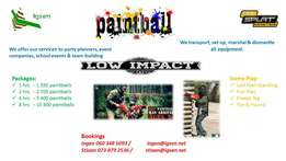 Kids Low Impact Paintball