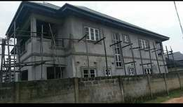 5 Uncompleted Bedroom Duplex with an exclusive study room for sale