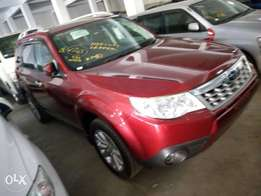 Red Subaru Forestet Forester Non