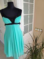 d21074886a jak nowa śliczna sukienka na wesele r. S (36)