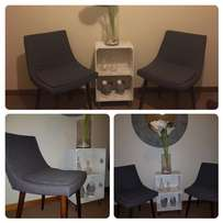 Set of art deco chairs