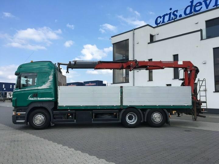 Scania R500 6x2 HMF 2000 L2 Baustoff Greiferleitung V8 - 2007 - image 5