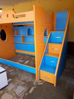 Double bunk, Bed Space with cupboards