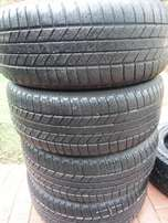 4x tyres Goodyear Wrangler HP 255/55/19,70 percent tread!!Bargain!!