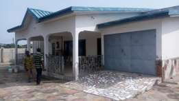 Kasoa CP : 5bedroom self-compound. 2years advance Strictly.