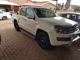 VW Amarok Double Cab side steps