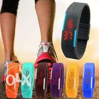 Sports led wrist watch