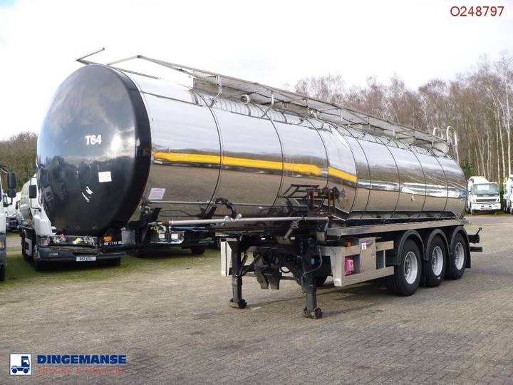 Clayton Heavy oil / bitumen tank inox 30 m3 / 1 comp + pump - 1997