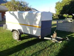 Enclosed Bantam trailer