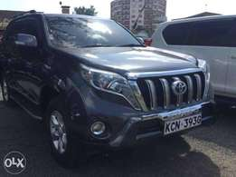 Just Arrived 2010 Toyota Prado 3.0Turbo diesel with full 2017 facelift