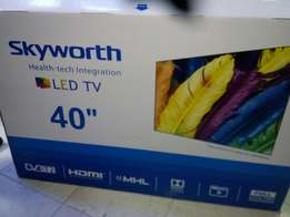 Skyworth 40 inch digital tvs are back,Trade in accepted