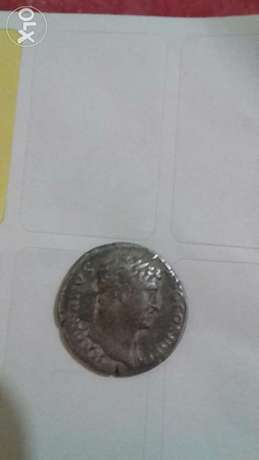 Roman Ancient Silver Coin for emperor Hadrian from 117 to 138 AD