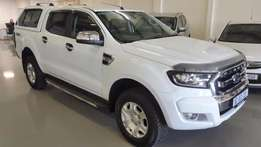 2016 Ford Ranger 3.2TDCi XLT Double Cab 4x4 Manual with 3 000km