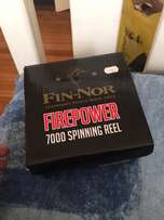 finnor fishing reel and rod