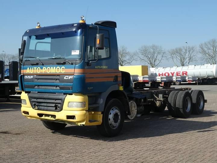 DAF CF 85.380 6x4 full steel - 2002