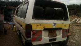 Toyota shark kam body on sale as shell at 70k