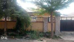 A well finished 3 bedroom bungalow and 1 bedroom b/q