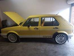 Citi Golf Turbo Charged, Yellow in Colour