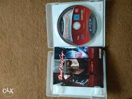 DEVIL MAY CRY disc for PlayStation 3