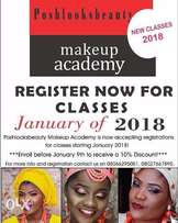 Makeup and Gele classes this Jan at poshlooksbeauty Makeup school Abeo