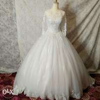 Wedding dress brand new white