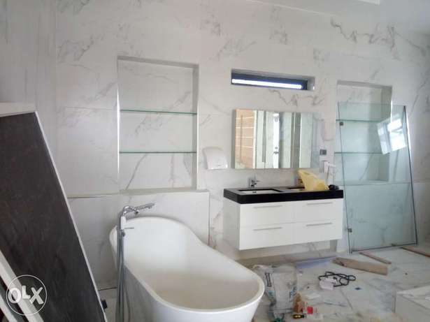 mansion with a swimming pool for sale in Osapa London Lekki - image 4