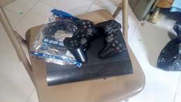 Used ps3 super slim hacked with 7 games
