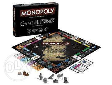 Monopoly Game of Thrones (Collectors Edition, in German language)