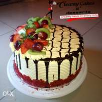 Order for your yummy cakes