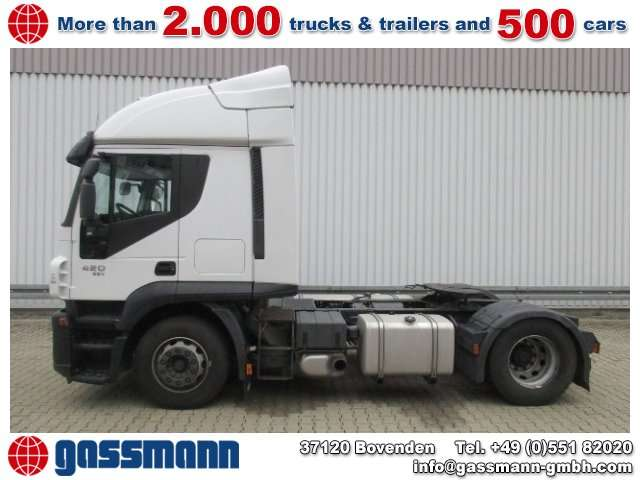 Iveco Stralis At440s42t/p 4x2 Szm Intarder - 2012