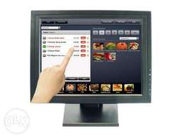 Touch Screen 15-Inch POS TFT LCD Monitor