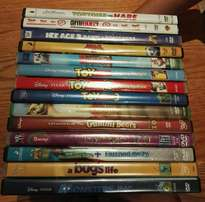 DVDs - 14 DVDs for the kids all for R150