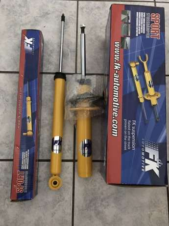 FK Sport Shocks for Audi A4 or A5 B8 Honeydew - image 3