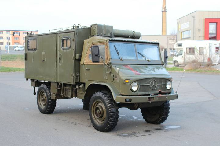 Unimog Cabrio S 404.1 Armee Militär EX Funkwagen - 1966