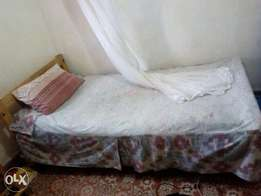 Bed- wood