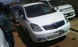 Toyota spacious model 2002 white colour in excellent condition