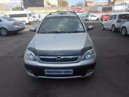 opel corsa bakkie 1.4 2010 model silver colour with electric window