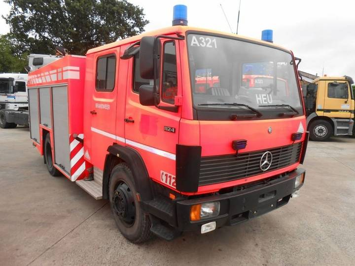 Mercedes-Benz 1124 F 4x2 Feuerwehr / Fire Department - Autopump - 1996