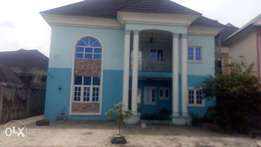 Detached 5 Bedroom Duplex For rent at off Peter odili Rd pH.
