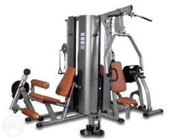 Deluxe Four Station Multi-Gym Body Builder